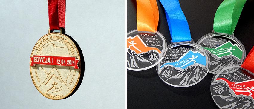 Medale na Grand Prix w biegach górskich w Gdyni