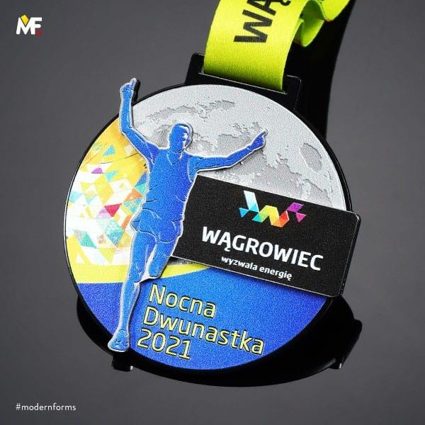 Stylowe medale na zawody sportowe