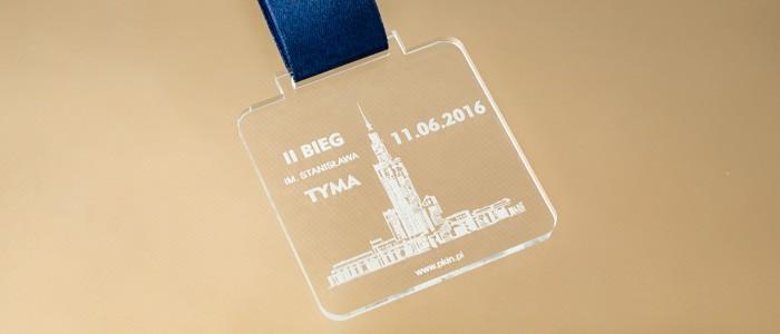 Grawerowane medale dla biegaczy