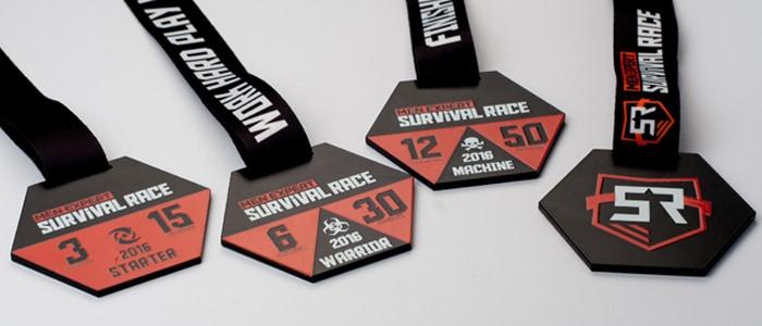Stylowe medale na zamówienie dla biegaczy