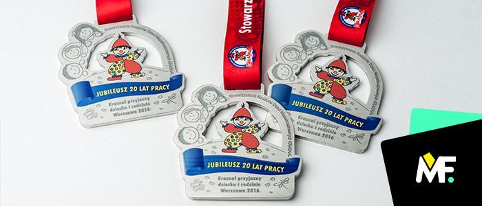 Oryginalne medale dla dzieci - produkcja