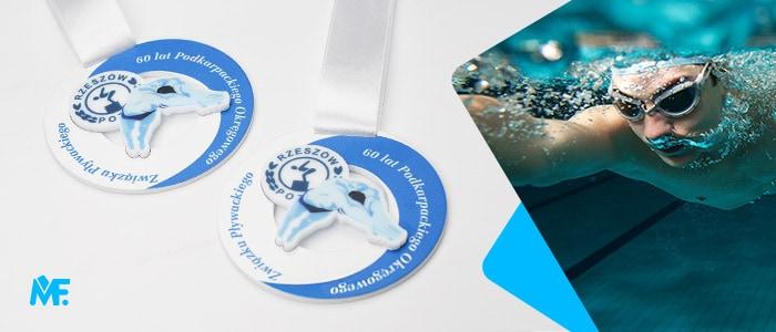 Eleganckie medale okolicznościowe z metalu