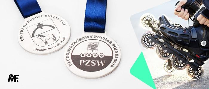 Medale z metalu na zawody sportowe