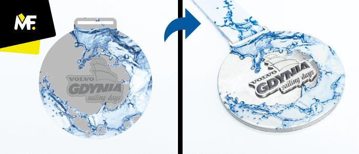 Medal na Volvo Gdynia Sailing Race