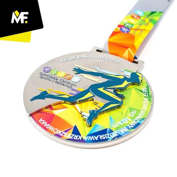 Medal biegowy Bieg Memoriałowy