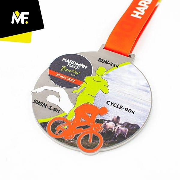 Medal rowerowy Hardman Half