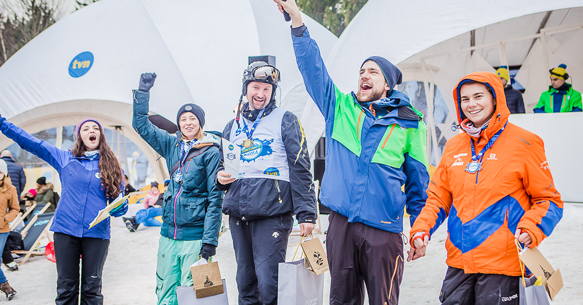Projekt Zima 2018 TVN nagrodzeni sportowcy
