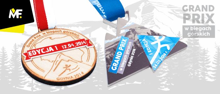 Medale sportowe Biegi Górskie Gdynia