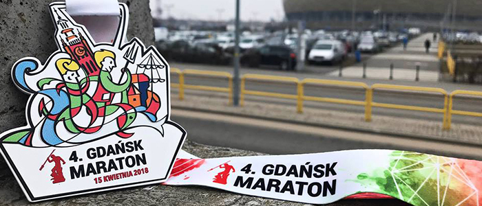 Medale sportowe 4. Gdańsk Maraton