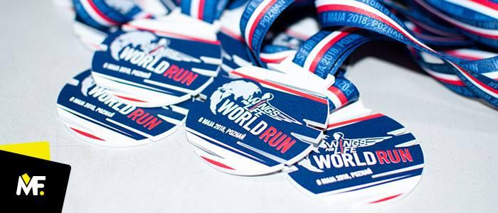 Niezwykłe medale sportowe dla niezwykłego biegu