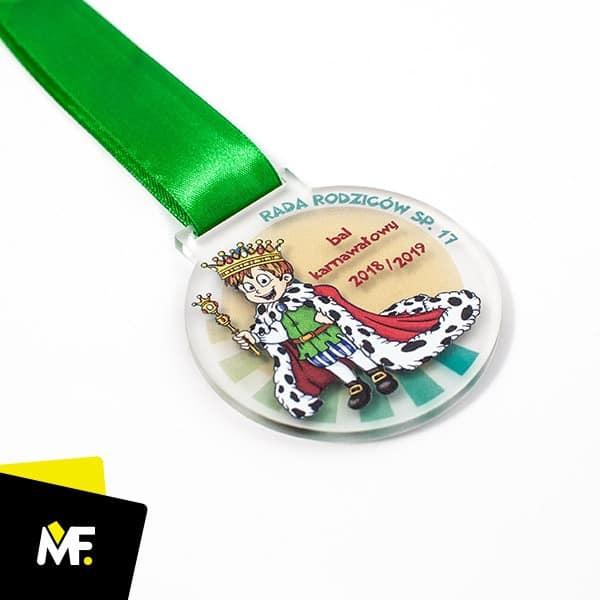Medale dla dzieci na bal karnawałowy