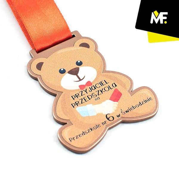 Medal dla dzieci z misiem, Przedszkole w Świebodzinie