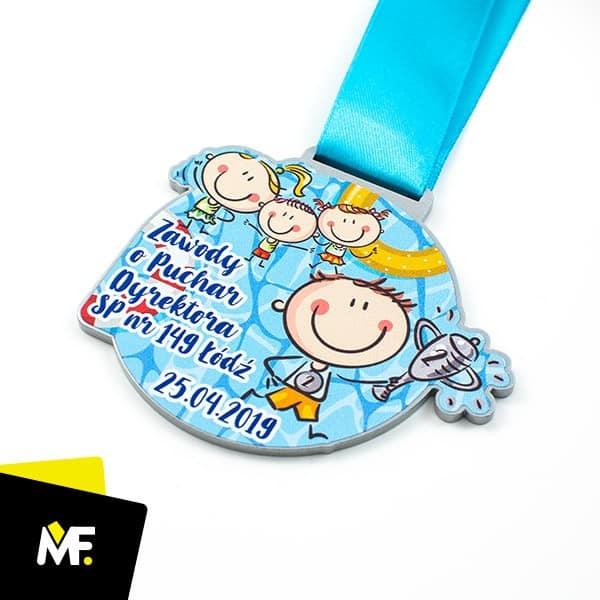 Medal dla dzieci, zawody o puchar dyrektorów SP Łódź