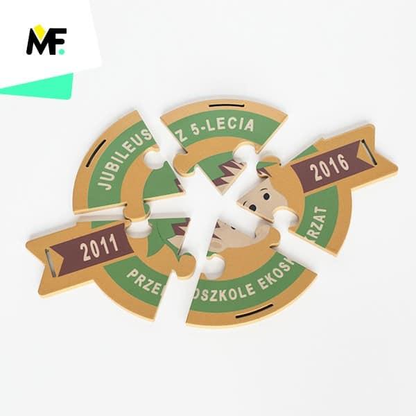 Medal dla dzieci jubileusz 5-lecie Przedszkole