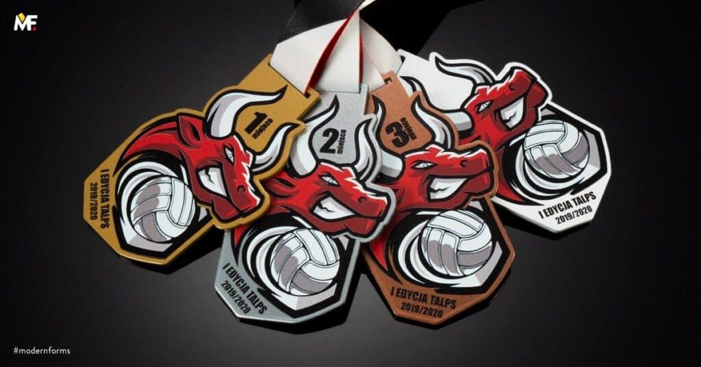 medal zawody siatkówka dlasportowców