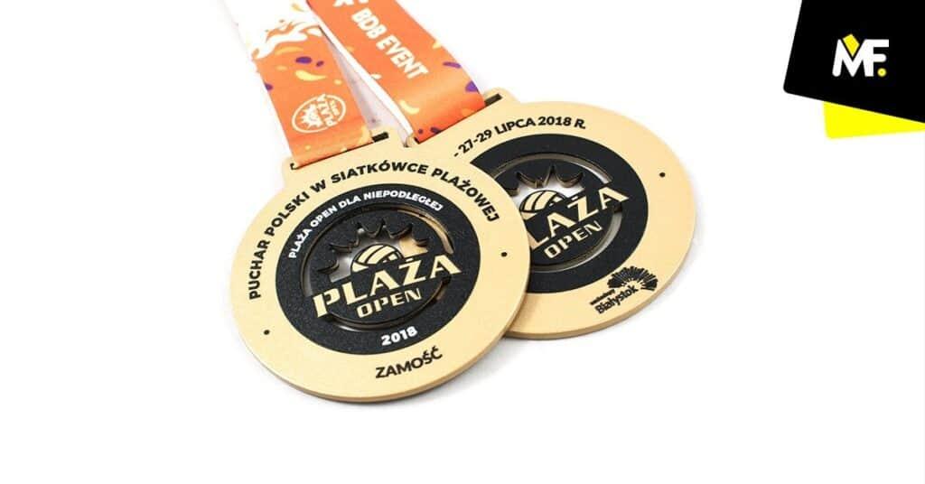 medale zawody sportowe siatkówka