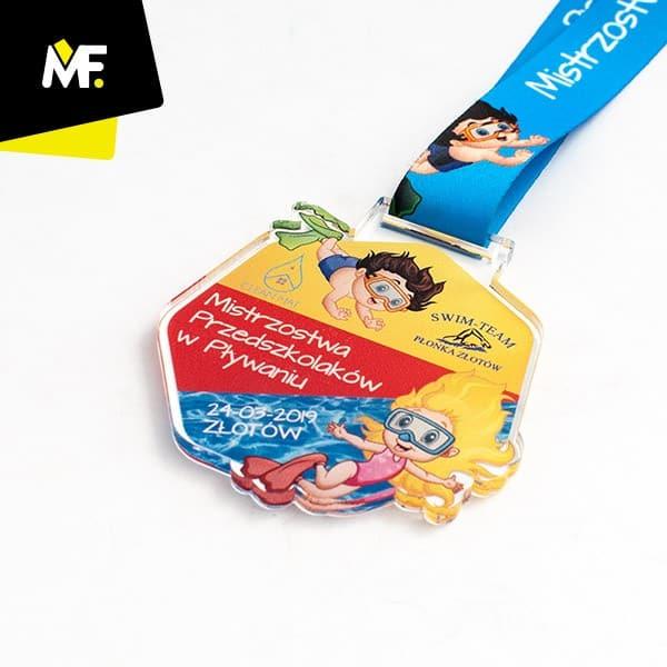 Kolorowy medal dladzieci, produkcji Modern Forms