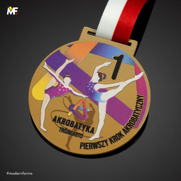 konkursowe medale taneczne