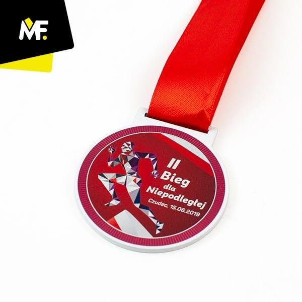 Medal IIBieg dlaNiepodległej Czudec 2019