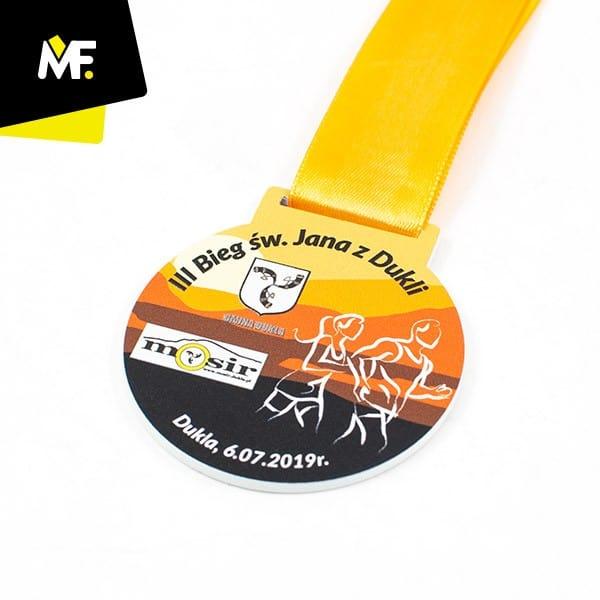 Medal biegowy IIIBieg św.Jana zDukli