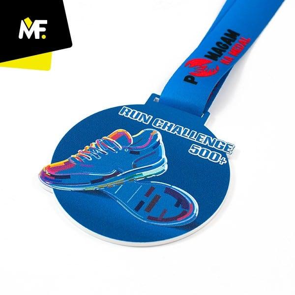 Medal sportowy Run Challenge 500 +