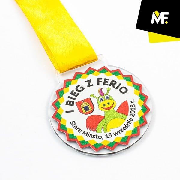 Medal biegowy dladzieci