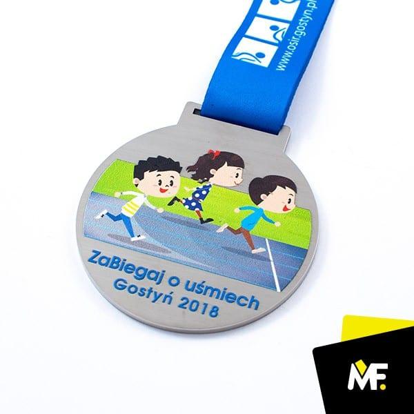 Kolorowy medal dladzieci