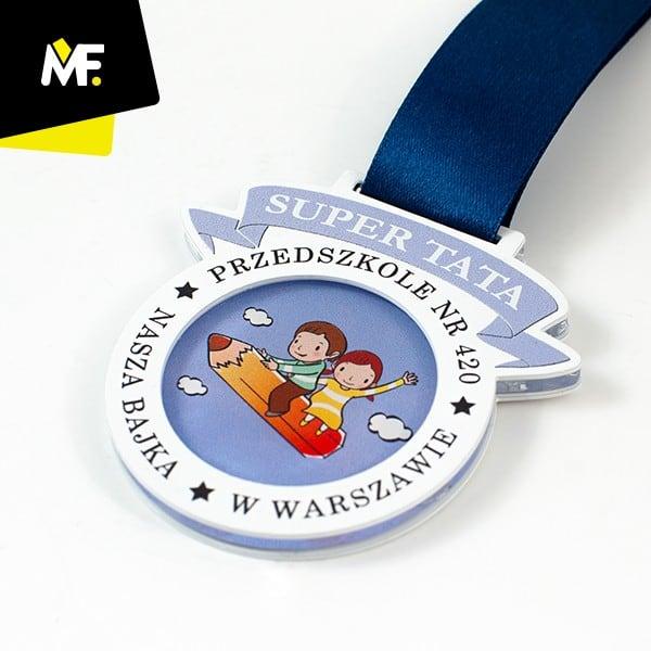 Medal dlataty, przedszkole nr420 Warszawa