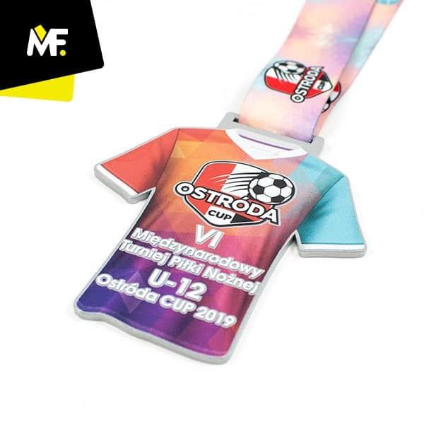Medal sportowy, V Międzynarodowy Turniej Piłki Nożnej