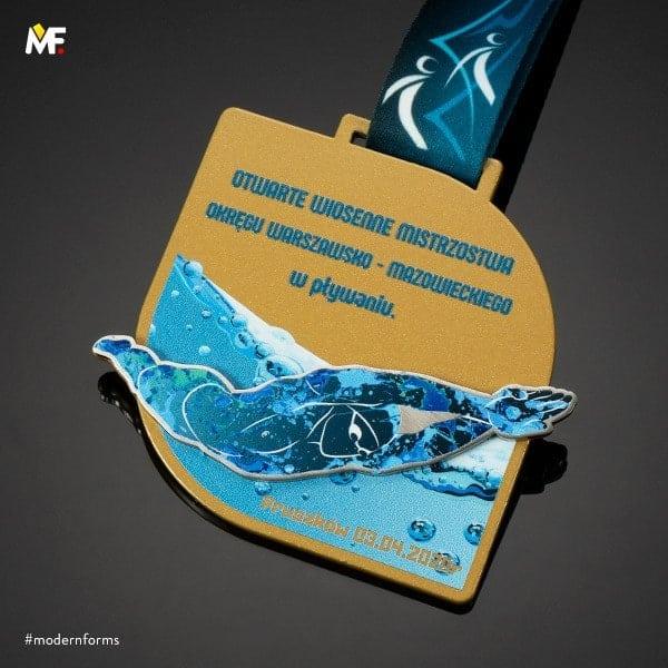medale namistrzostwa sportów wodnych