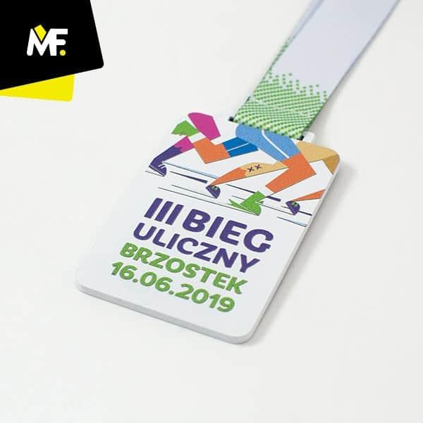 Medal IIIBieg uliczny Brzostek 2019