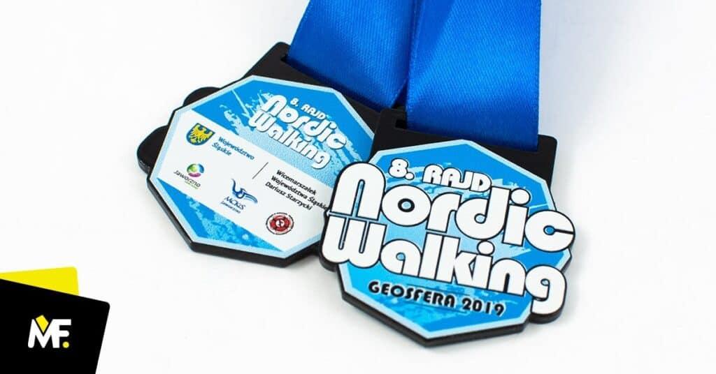 medal dlabiegaczy nordic walking