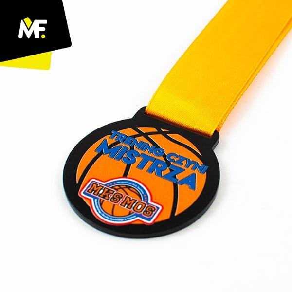 Medal sportowy, koszykówka MKS MOS