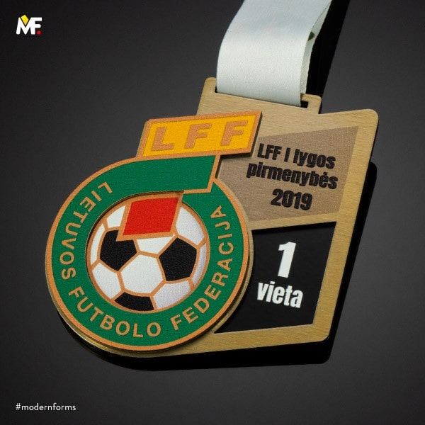 medale piłka nożna