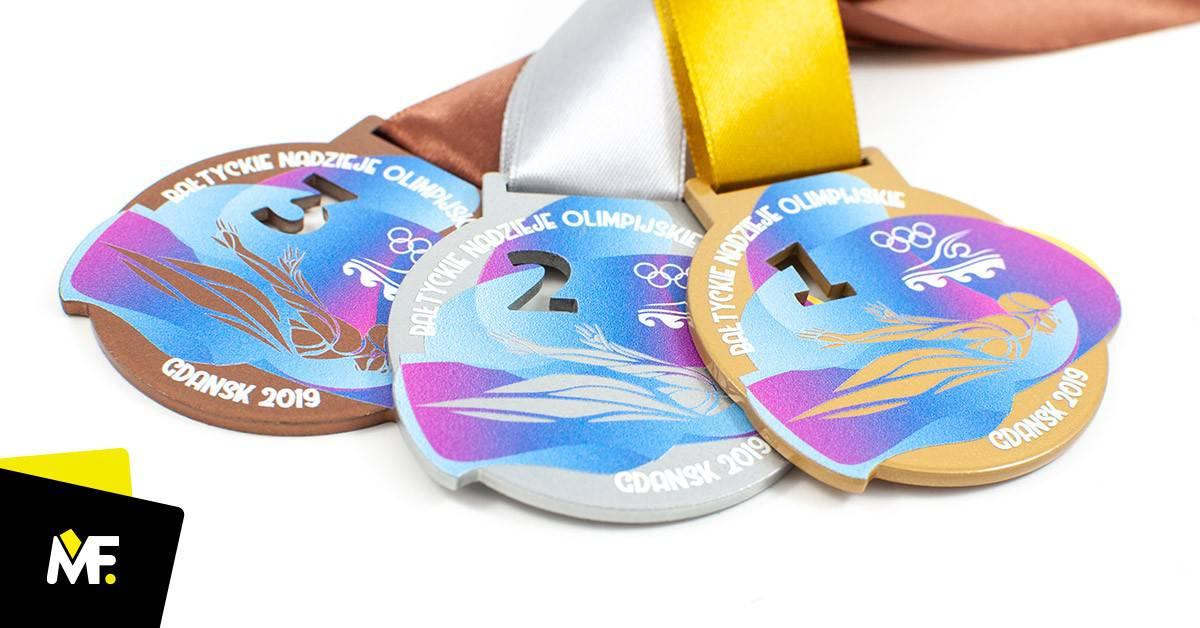 Medale pływackie Bałtyckie Nadzieje Olimpijskie Gdańsk 2019