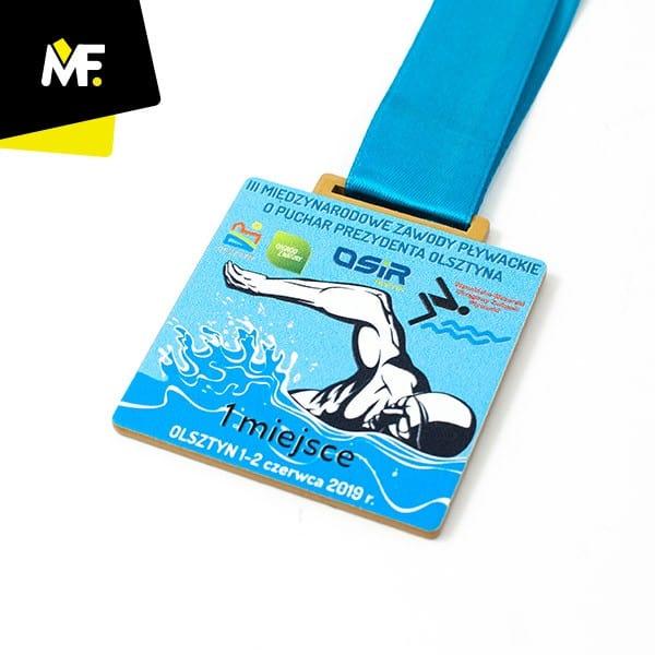 Medal IIIMiędzynarodowe Zawody Pływackie oPuchar Prezydenta Olsztyna 2019