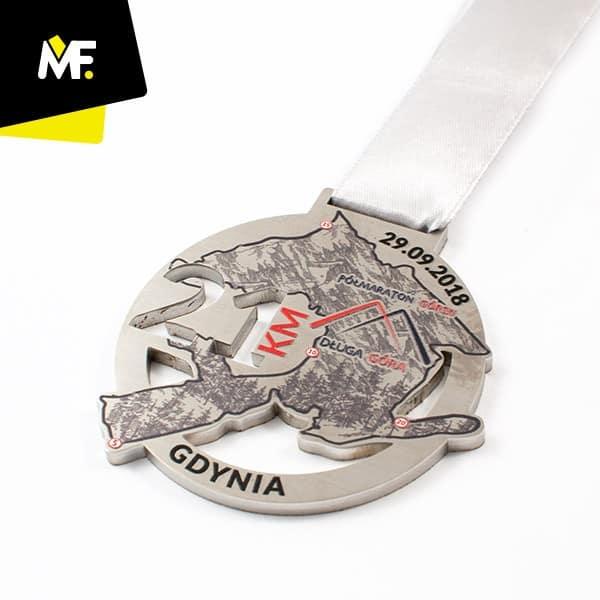 Medal metalowy nabiegi górskie