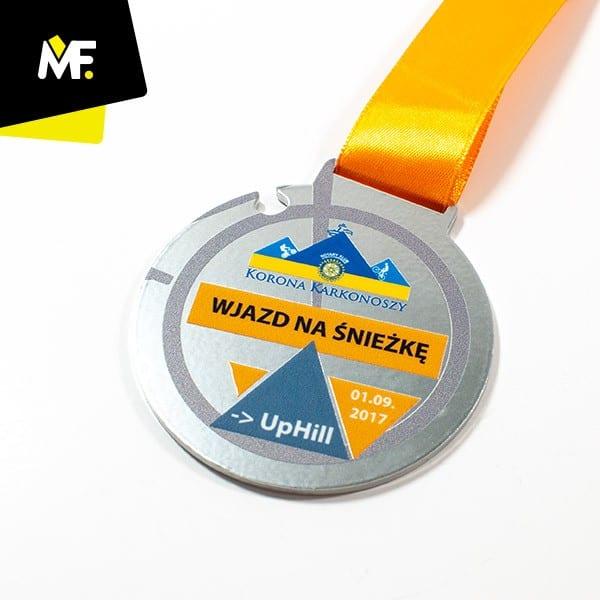 Medale rowerowe Wjazd naŚnieżkę