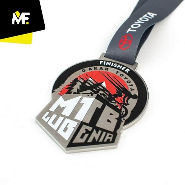 Medal nazawody rowerowe DAKAR TOYOTA