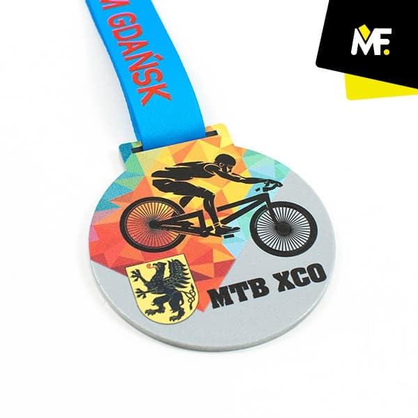 Medal rowerowy MTB XCO