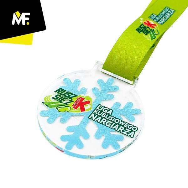 Medale sportowe, Liga Kubusiowego Narciarza