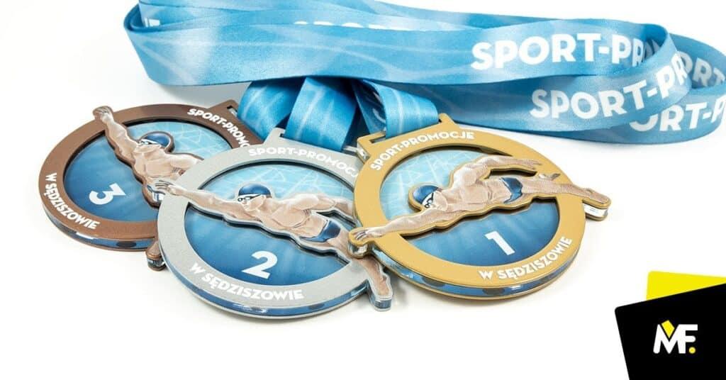 medale pływanie dlafinalistów