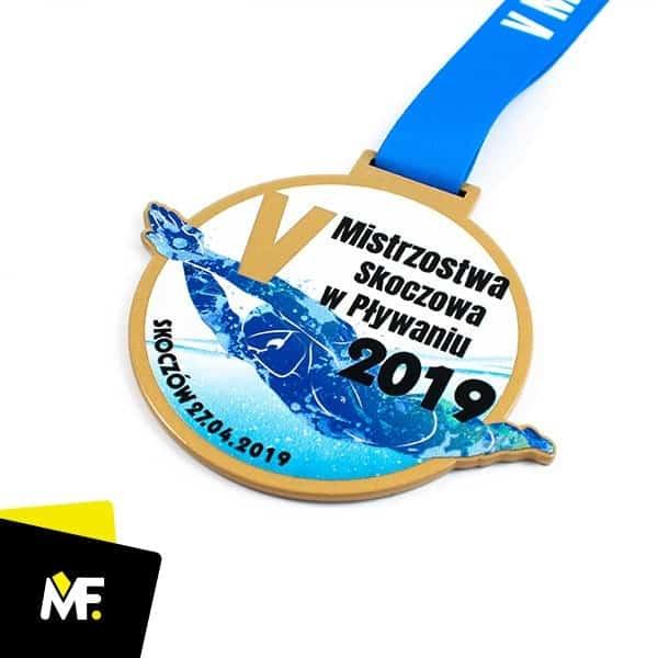 medal pływanie nazawody