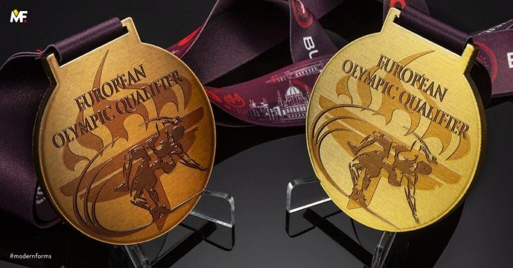 medale sporty walki