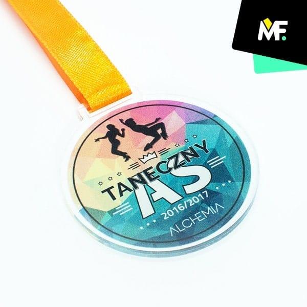 medale taniec