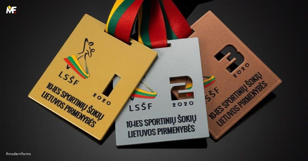 medale zawody taneczne