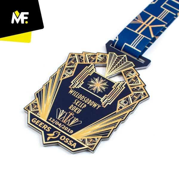 Medal wieloosobowy sklep roku