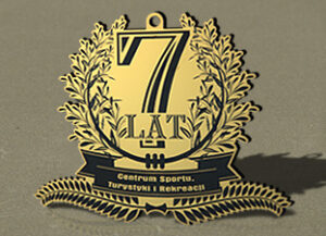 Medale oróżnych kształtach