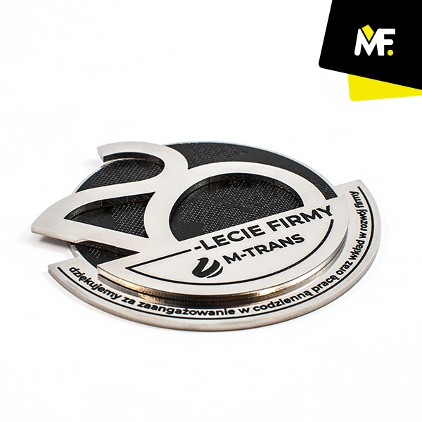 Medal jubileuszowy 20-lecie M-TRANS