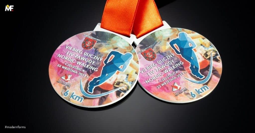 medale nabieg uliczny nordic walking